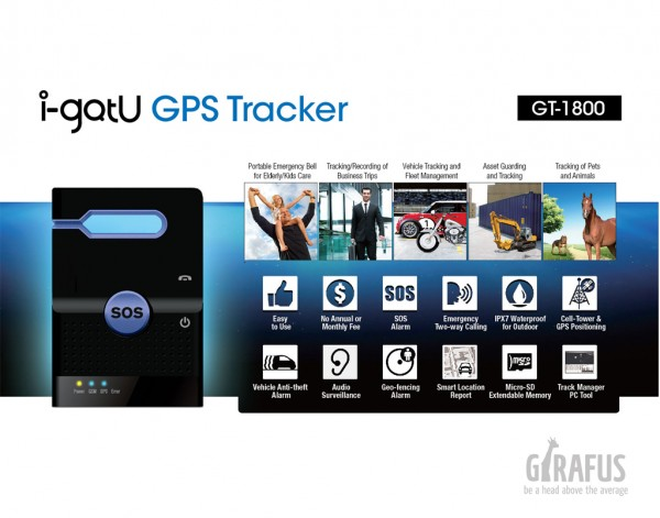 i gotu gps tracker gt 1800 a car motorcycle person. Black Bedroom Furniture Sets. Home Design Ideas
